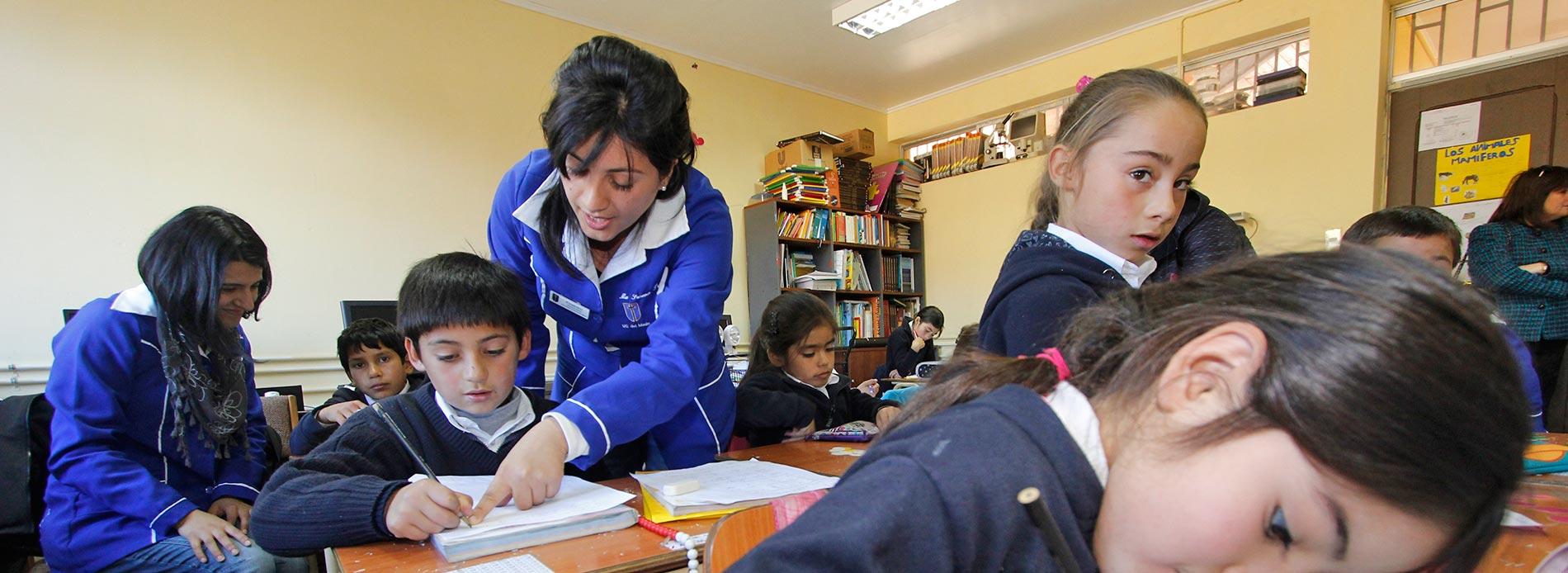Pedagogía en Educación Básica con Mención - Talca