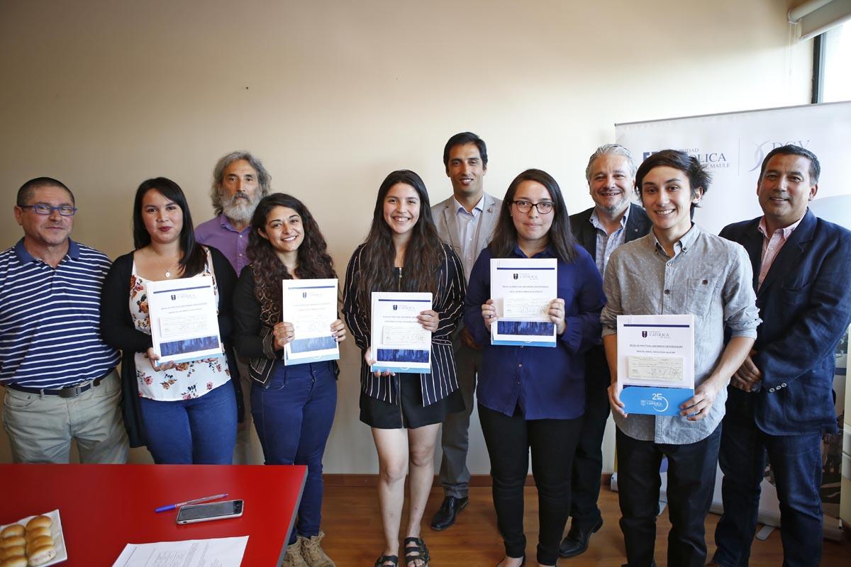 Estudiantes UCM obtienen becas de Práctica Santander Universidades