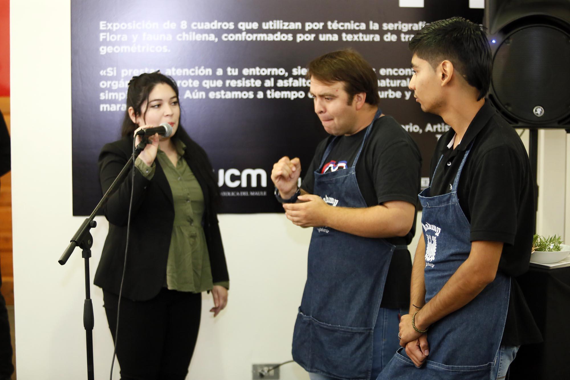 UCM inauguró cafetería inclusiva en su centro de extensión en Talca