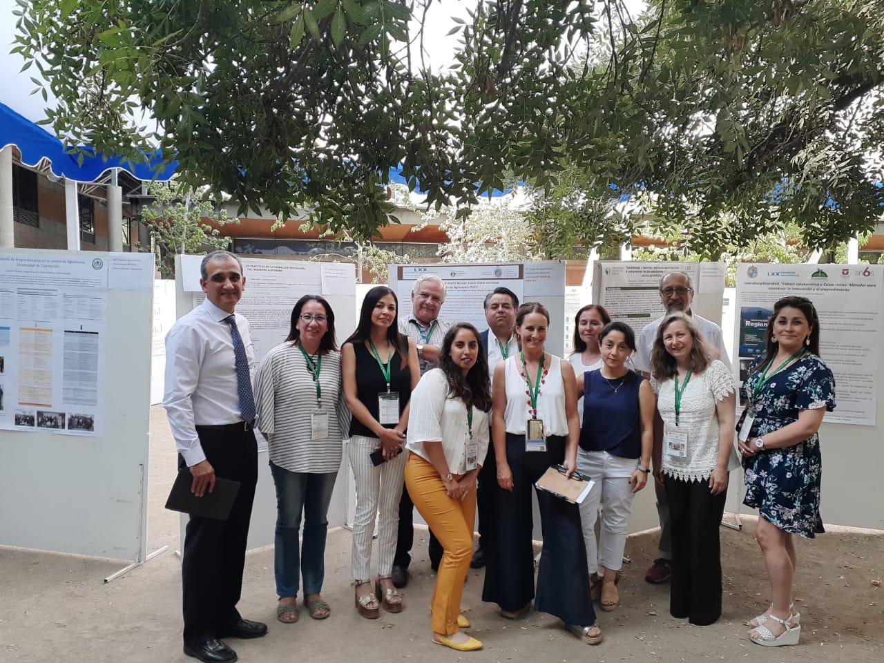 Académicos de la UCM participaron del 70° Congreso Nacional de Agronomía