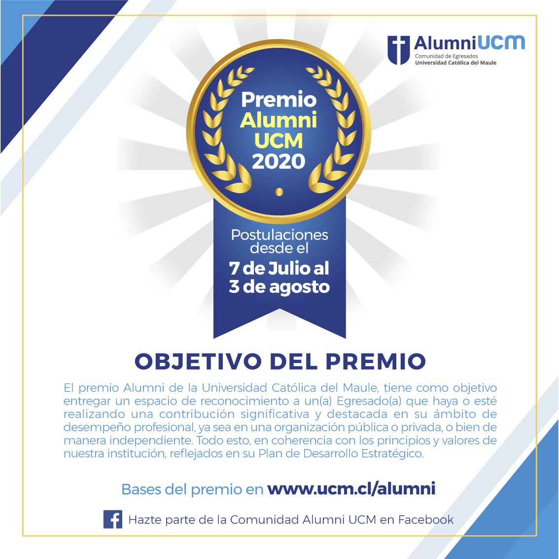 Premio Alumni 2020