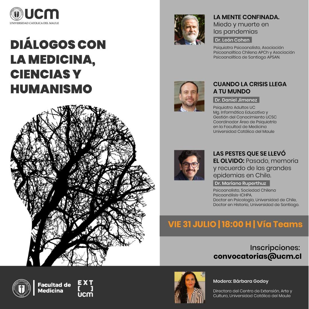 Diálogos promueven encuentro para analizar el estado de la salud mental en pandemia