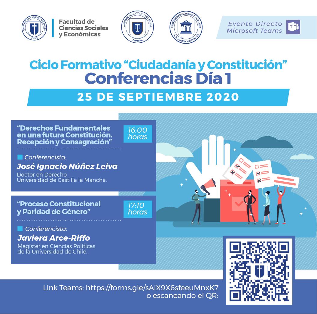 """UCM invita a II Ciclo formativo """"Ciudadanía y Constitución"""""""