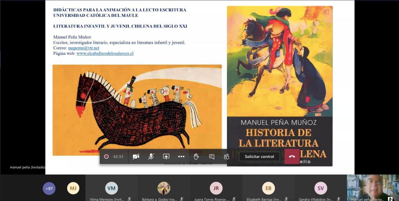 """Con participantes de diferentes puntos de Latinoamérica se realizó Seminario """"Didácticas para la Animación a la Lecto Escritura"""""""
