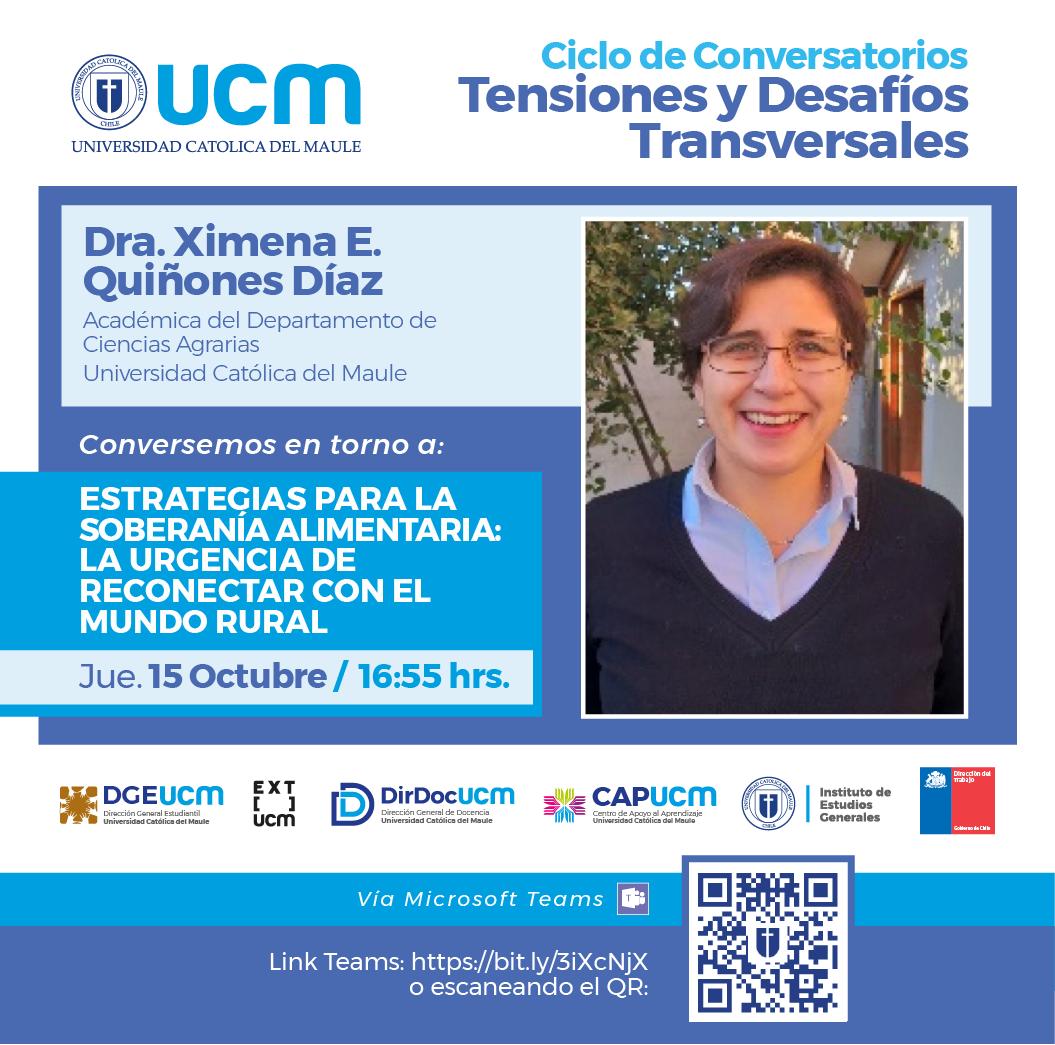 Académica de la UCM valora prácticas campesinas como formas de producción sustentable