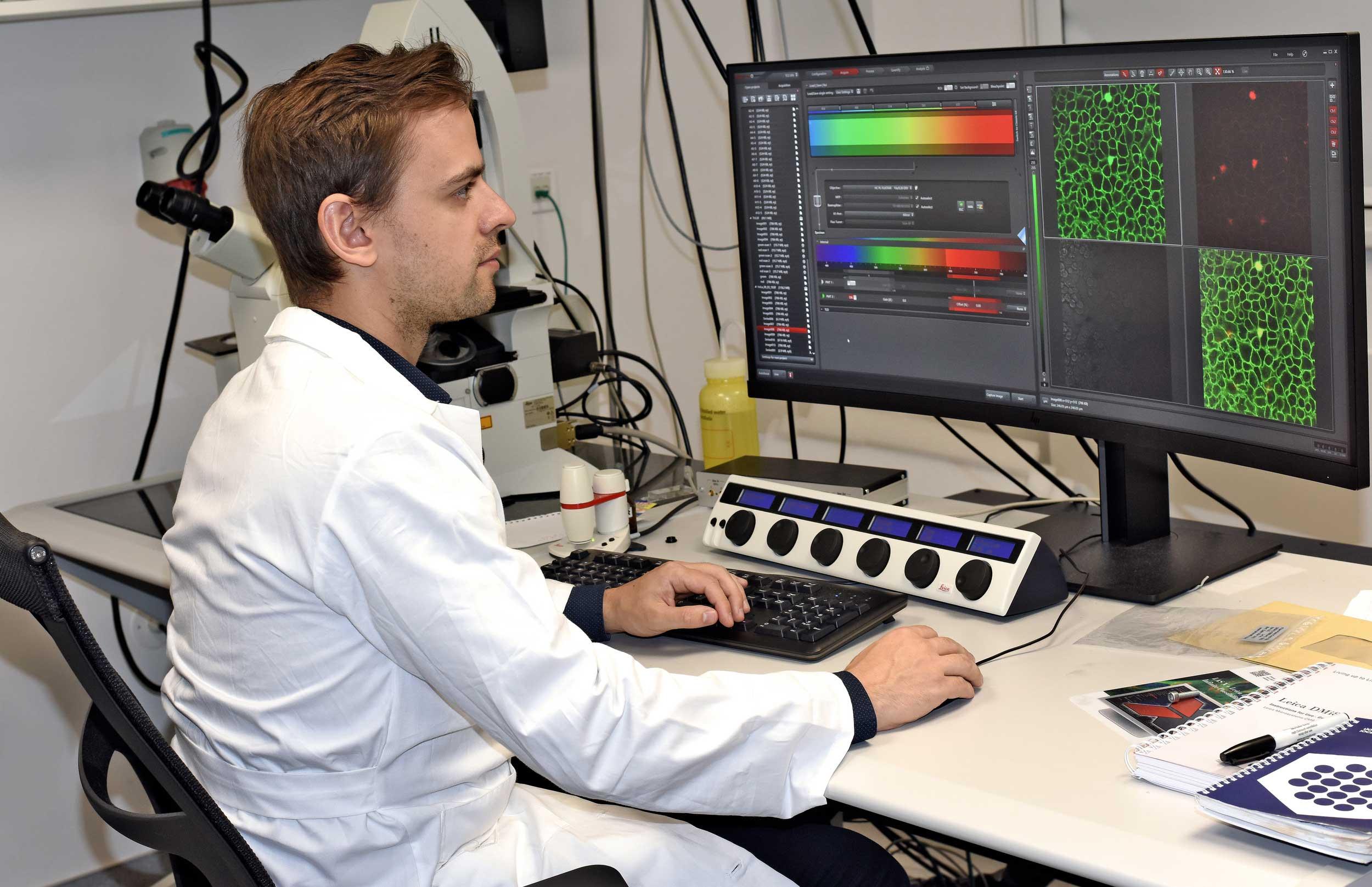 Región del Maule contará con un microscopio confocal espectral para fortalecer la investigación