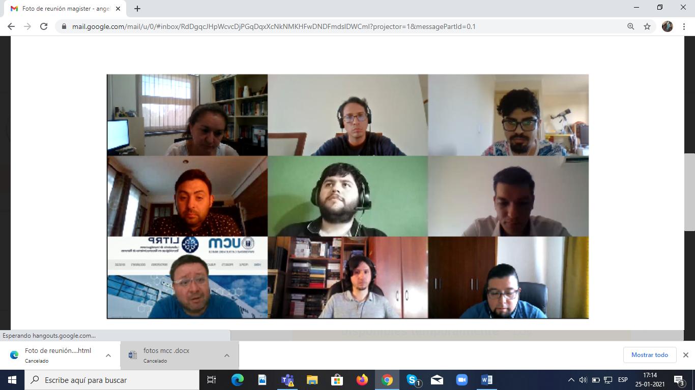 Estudiante de postgrado de la Universidad de San Pablo Bolivia culminó con éxito su pasantía Online en la UCM