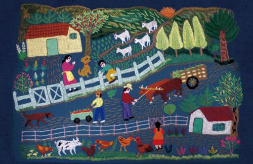 Textiles litúrgicos y bordados en torno a la Villa Cultural Huilquilemu serán parte del Día del Patrimonio