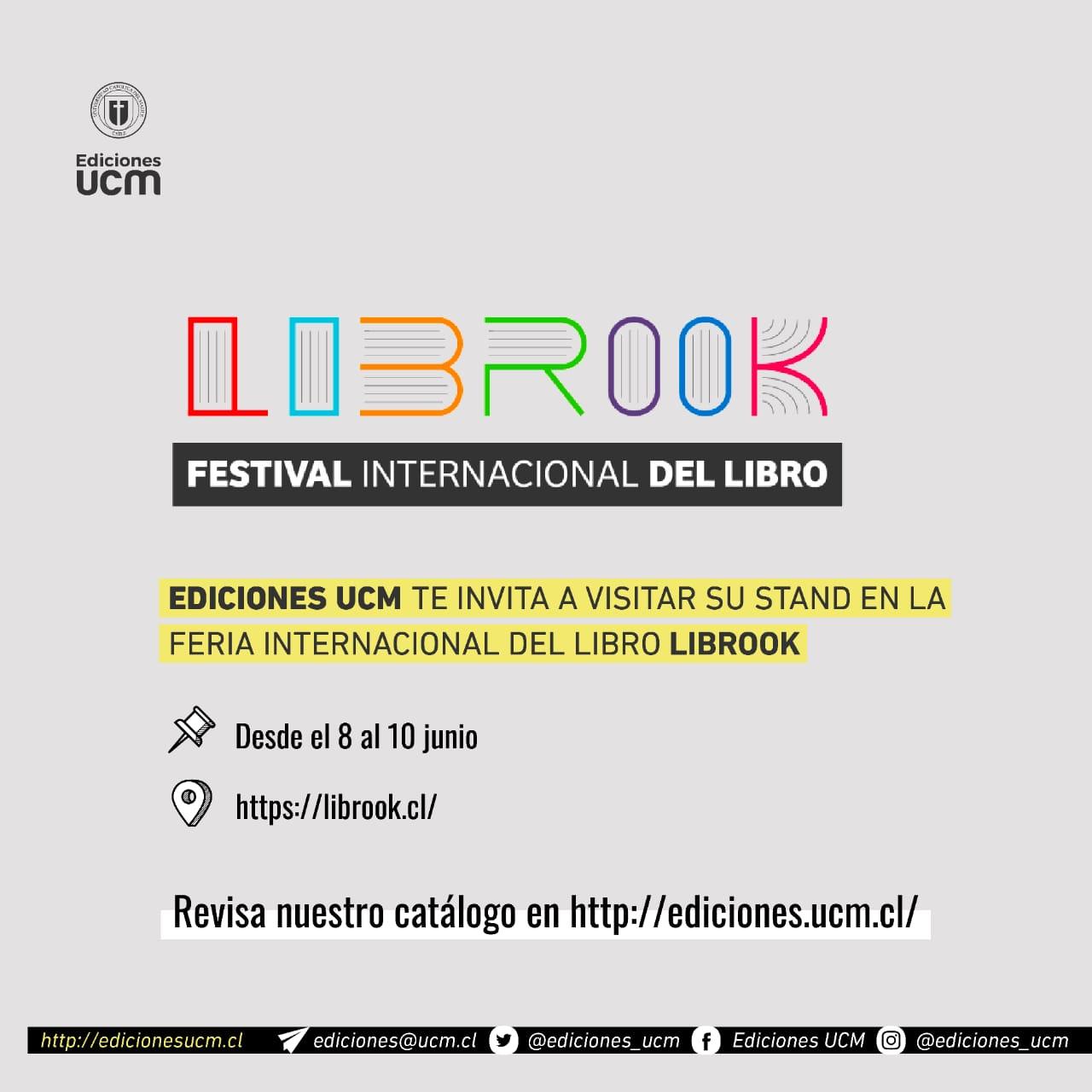 Ediciones UCM presenta su nuevo catálogo en Librook