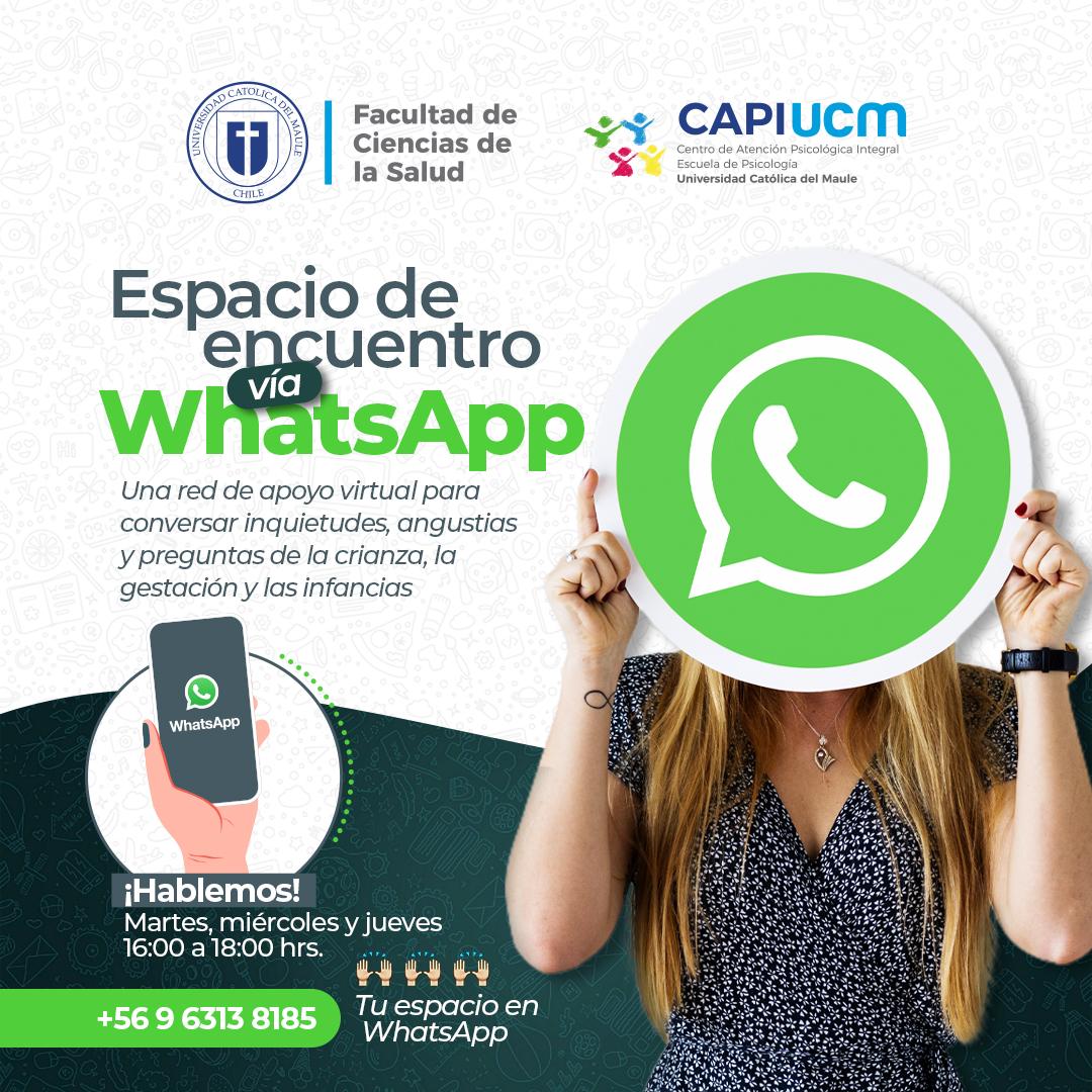 UCM ofrece servicio gratuito en Whatsapp para resolver dudas sobre crianza e infancia