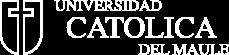 Logo Universidad Católica del Maule blanco