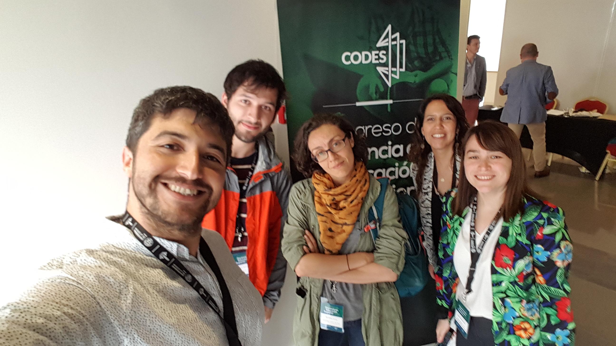 Comitiva de la Facultad de Ciencias Básicas UCM tuvo destacada participación en Congreso Internacional