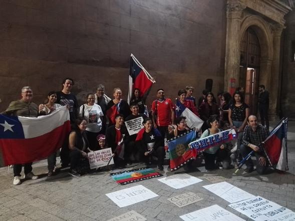 Estudiantes de intercambio de la UCM relatan sus sensaciones a propósito del proceso social chileno