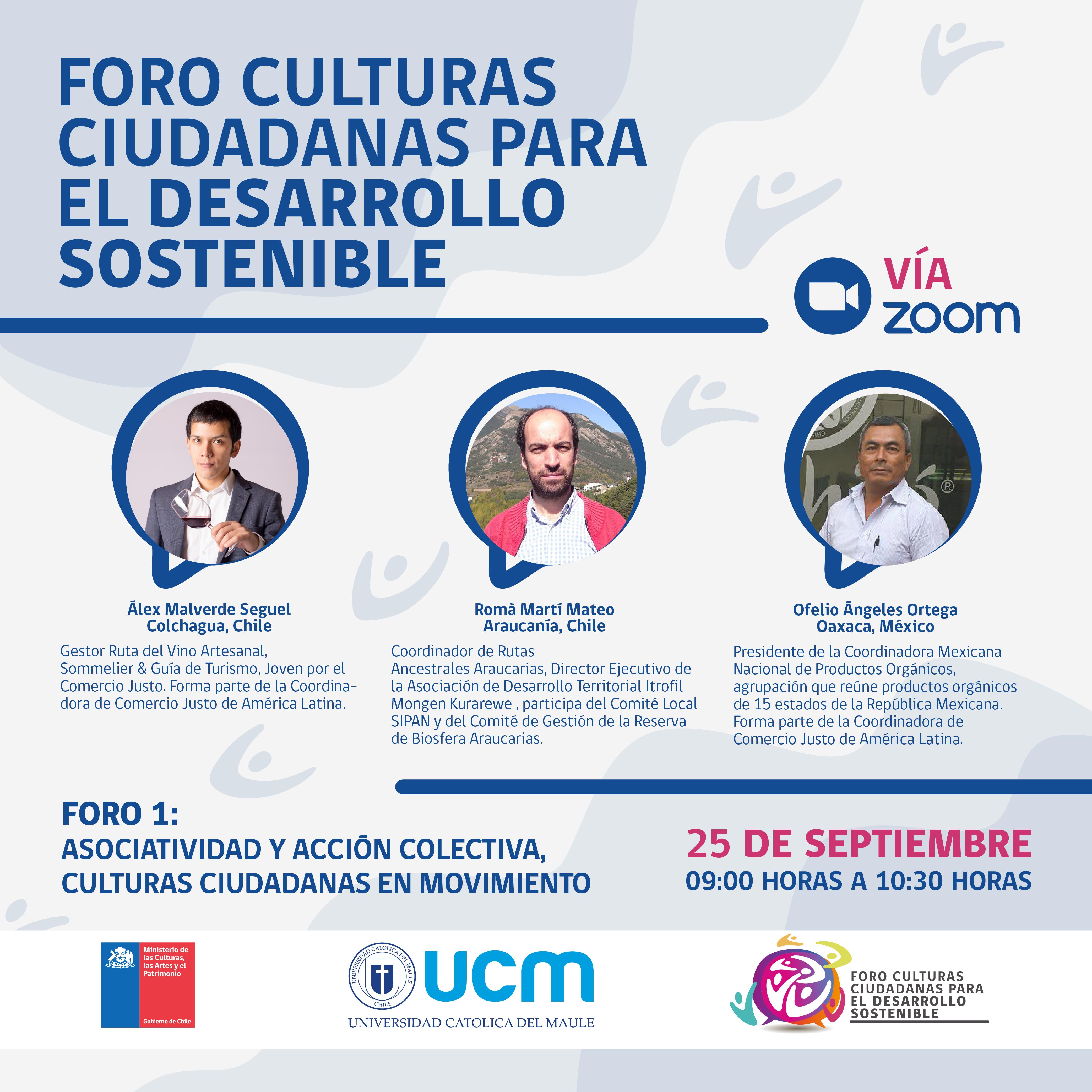 """Todo listo para realización de """"Foro Culturas Ciudadanas Para el Desarrollo Sostenible"""""""