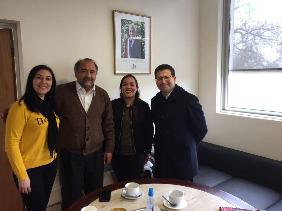 Comprometen colaboración para abordar temas de migración y educación