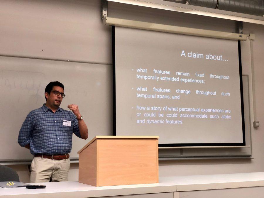 Investigador UCM expuso en congreso internacional de Filosofía y Psicología