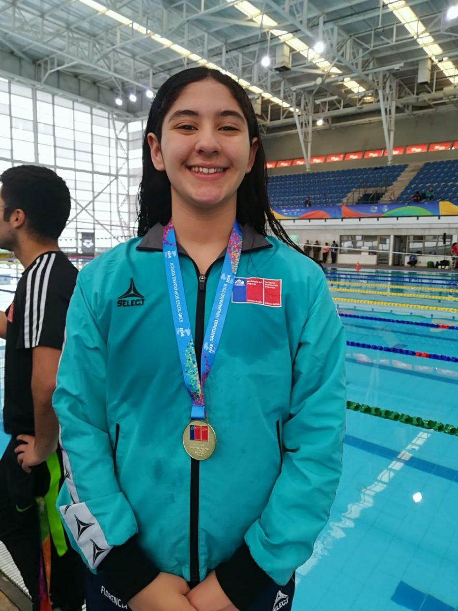 Equipo de natación Maulino continúa su cosecha de medallas