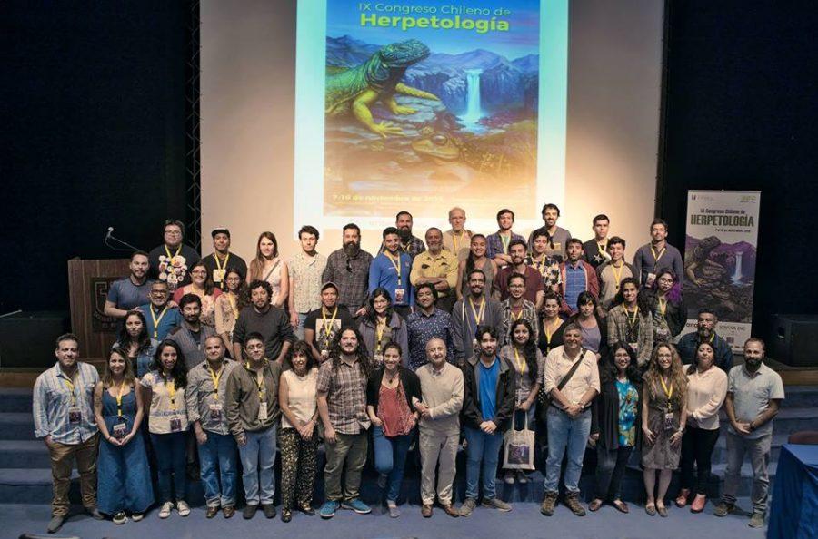 Talca fue el epicentro internacional de científicos que estudian anfibios y reptiles