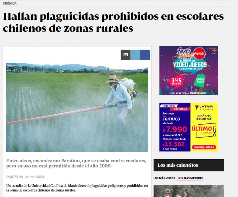 09 de julio en Diario La Cuarta: \