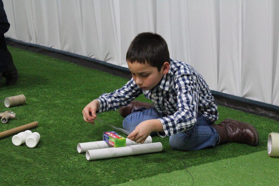 Fin de semana largo: La expresión plástica potencia la creatividad de los niños