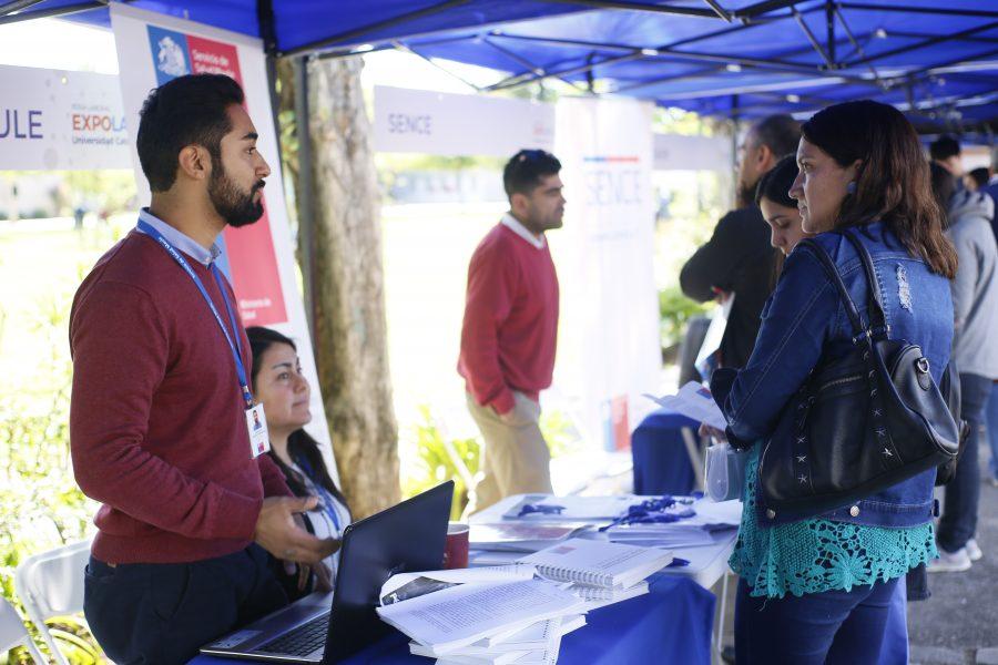Expo Laboral brindó oportunidades  de trabajo a los talquinos