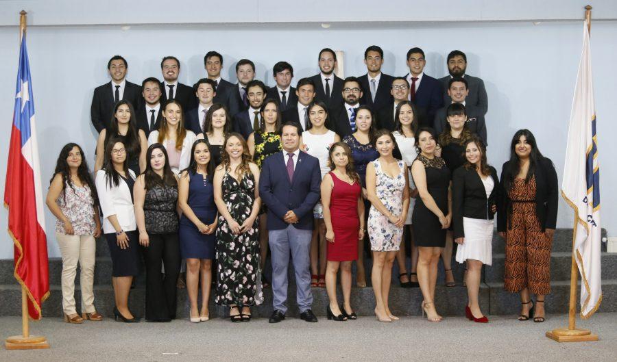 Emotiva ceremonia de titulación de la novena generación de graduados de Medicina UCM
