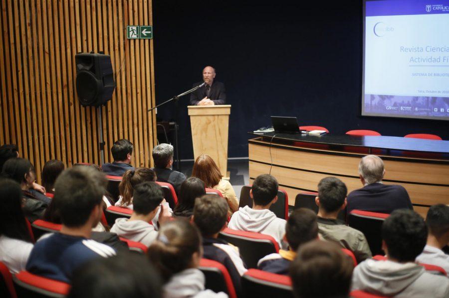 Revista Ciencias de la Actividad Física de la UCM estrenó nuevo formato