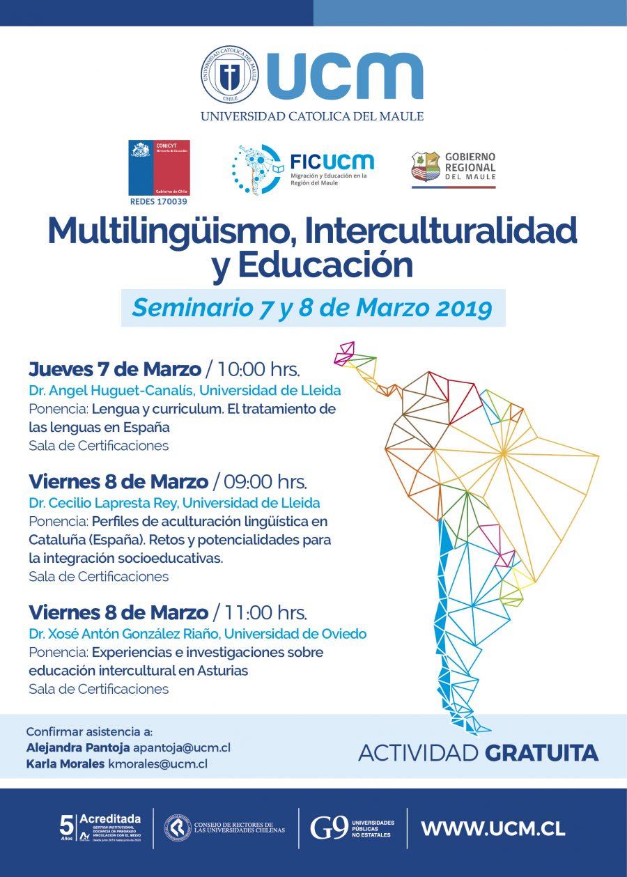 Expertos presentarán la experiencia española en interculturalidad y educación