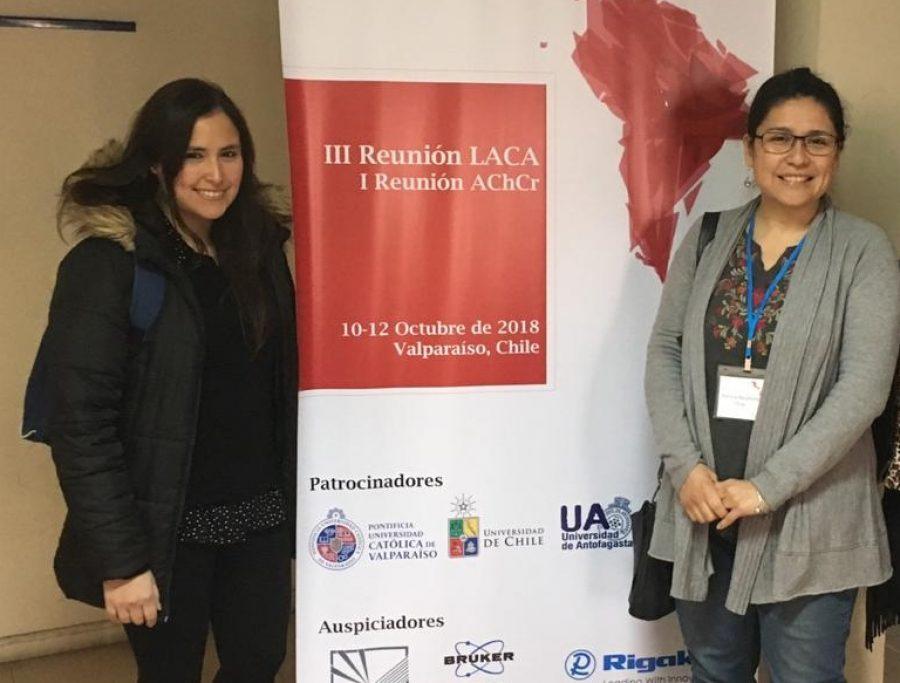 Científico de renombre invitado por académica UCM expuso en Encuentro Latinoamericano de Cristalografía