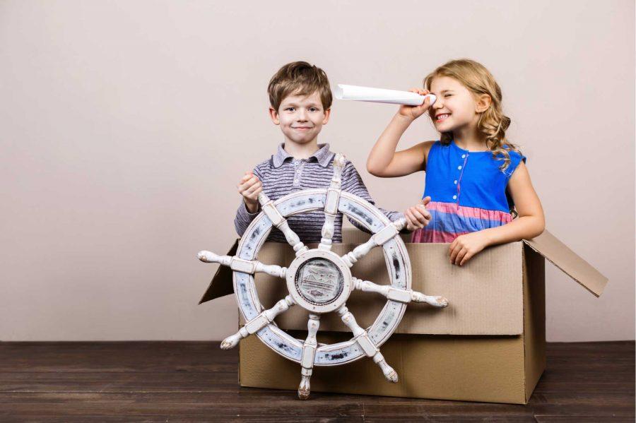 ¿Cómo estimular la imaginación de los niños en casa?