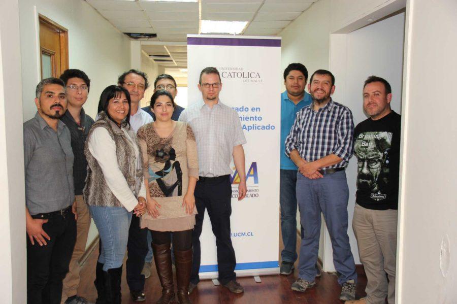 Destacado académico checo visitó el Doctorado de Modelamiento Matemático Aplicado de la UCM