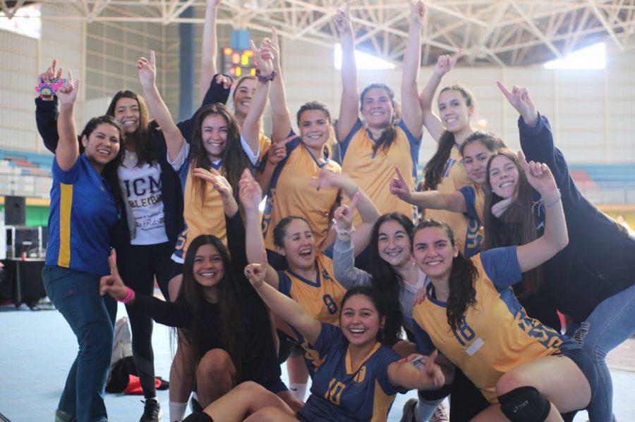 Campeonas regionales en vóleibol